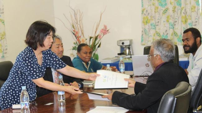 Vanuatu Business Review » JICA signs new tenancy agreement with VNPF 2